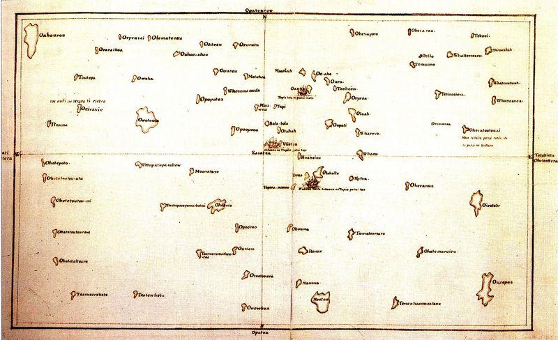 Tupaia map